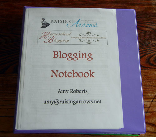 Blogging Notebook