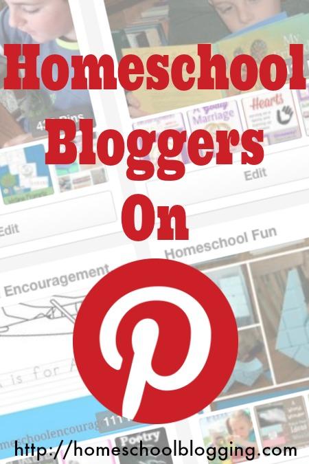 Homeschool Bloggers on Pinterest