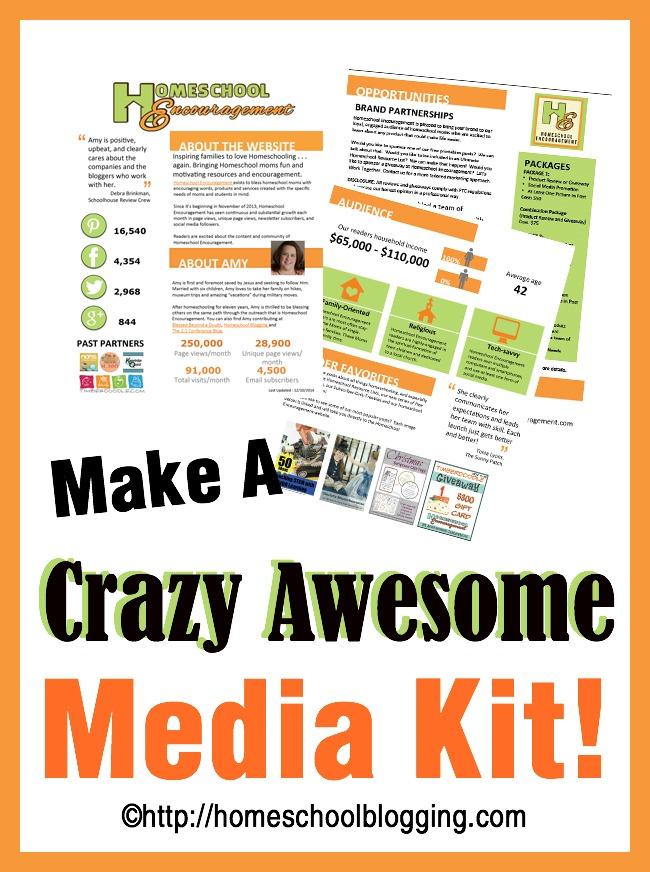 Make a Crazy Awesome Media Kit