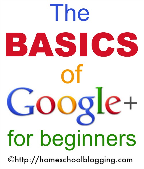 Basics of Google Plus #HSbloggers