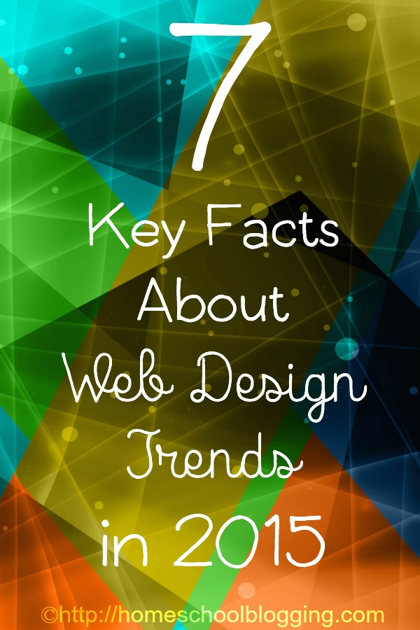 7 Key facts About Web Design Trends in 2015
