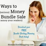 How to Promote a Bundle Sale {and NOT annoy your readers!} + Bundle Strategy Planning Pack