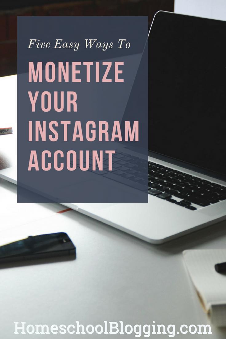 five easy ways to monetize your instagram account