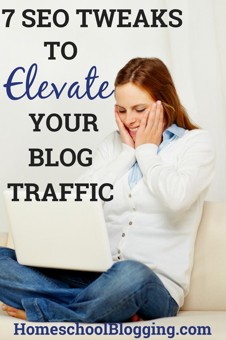 SEO tweaks to elevate blog traffic